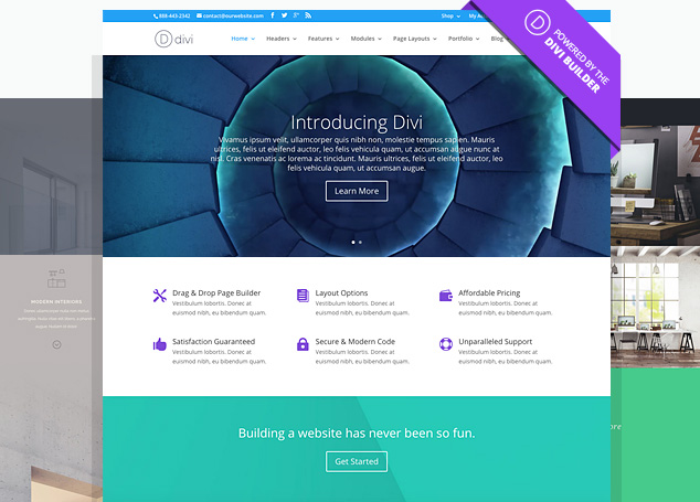 WordPress with Divi